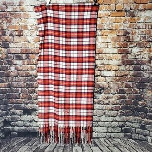 Lands' End tartan scarf new with tags